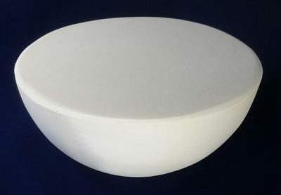 Medium Round Hump Mold, Made of Plaster for Pottery Making